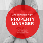 Choosing the right property manager